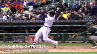 Oakland Athletics vs Detroit Tigers Highlights 28.04.2016