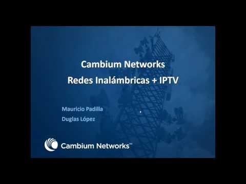 Redes Inalámbricas + IPTV