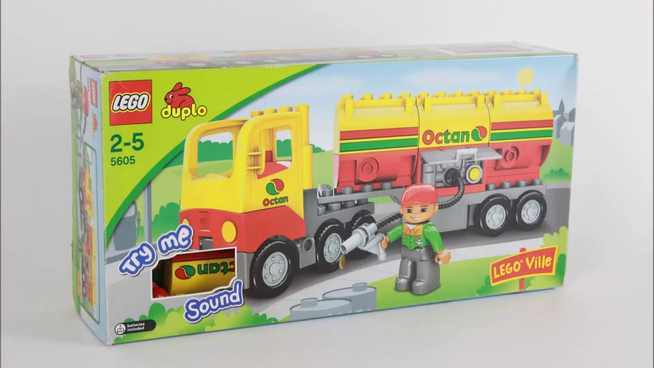 how to build a lego tanker truck