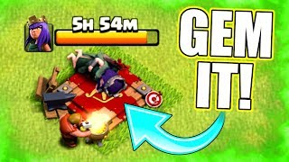 I SHOULDN'T REALLY DO THIS! - Clash of Clans - PREPARE YOUR LOOT FOR THE UPDATE!