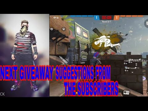 D&G GAMING NEXT GIVEAWAY SUGGESTIONS FROM THE SUBSCRIBERS WITH KALAHARI CLASH SQUAD GAMEPLAY