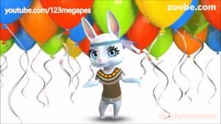 Zoobe Зайка Поздравляет с Днем рождения