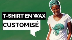 DIY: CUSTOMISER UN T-SHIRT AVEC DU WAX [ AFRICAN PRINT MAP ON T-SHIRT]