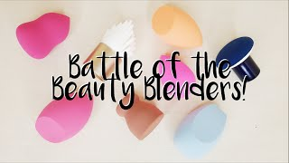 Battle of the Beauty Blenders | Trying 8 Dupe Sponges + Demos and Review of Each