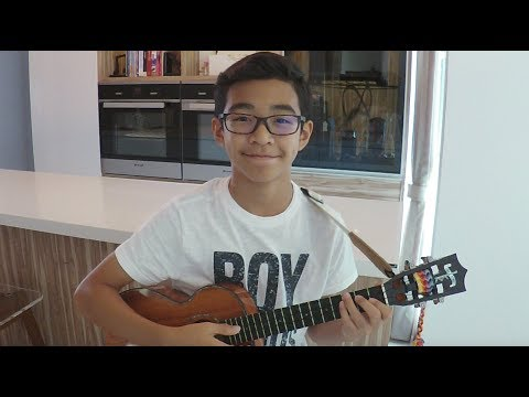 Evan's Ukulele - You Are The Reason By Calum Scott (Cover) Tabs And Scores Below!