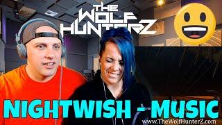 NIGHTWISH - Music (Official Lyric Video) THE WOLF HUNTERZ Reactions