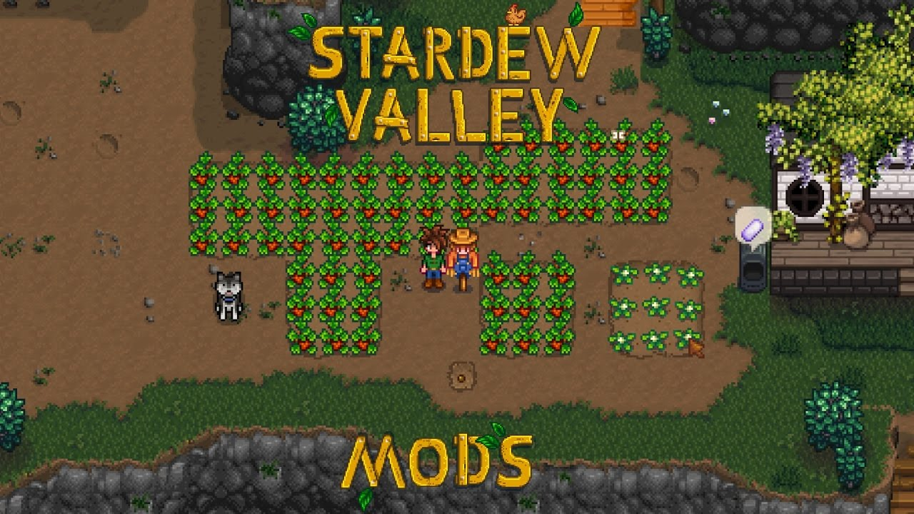 Stardew Valley Mods - Planting Trees In Bad Places - Ep 13