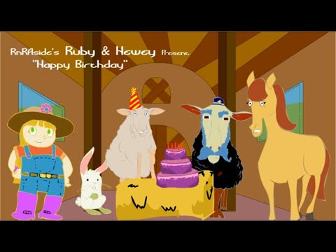 Happy Birthday - Super Simple Songs for Kids, Baby Songs- Presented by Hewey -and Ruby
