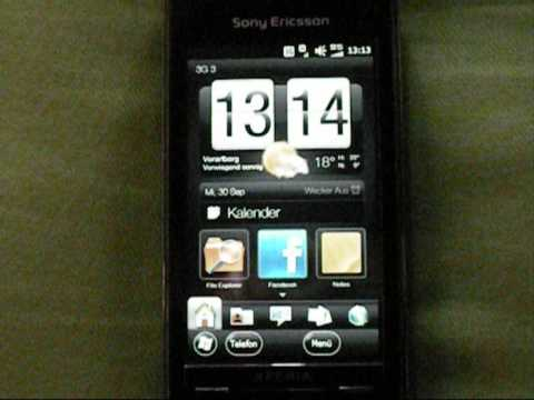 Windows Mobile 6.5 23053 Xperia X1 Manila 2.5