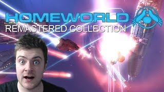 Homeworld Remastered Collection Gameplay (B-Roll Footage)