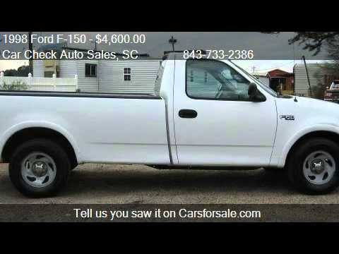 Ford F  Xl Reg Cab Long Bed Wd For Sale In Conway