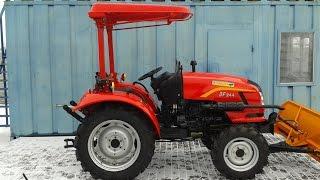 Купить Мини-трактор Dongfeng-244 (Донгфенг-244)  с козырьком minitrak.com.ua(, 2017-01-21T11:56:12.000Z)