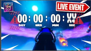 """LIVE SEASON X into """"CHAPTER 2"""" EVENT!  (Fortnite Live Gameplay)"""