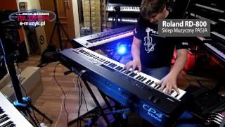 roland rd 800 vs yamaha cp 4 stage demo comparison poro wnanie rd800 i cp4
