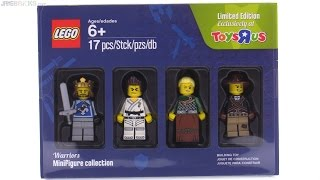LEGO Toys R Us Bricktober Warriors minifig collection reviewed!
