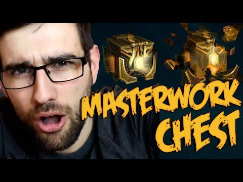 KUPUJEM NOVE MASTERWORK LEAGUE OF LEGENDS CHESTOVE