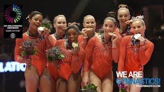 2015 Artistic Worlds - Women's Team Final, Highlights - We are Gymnastics !