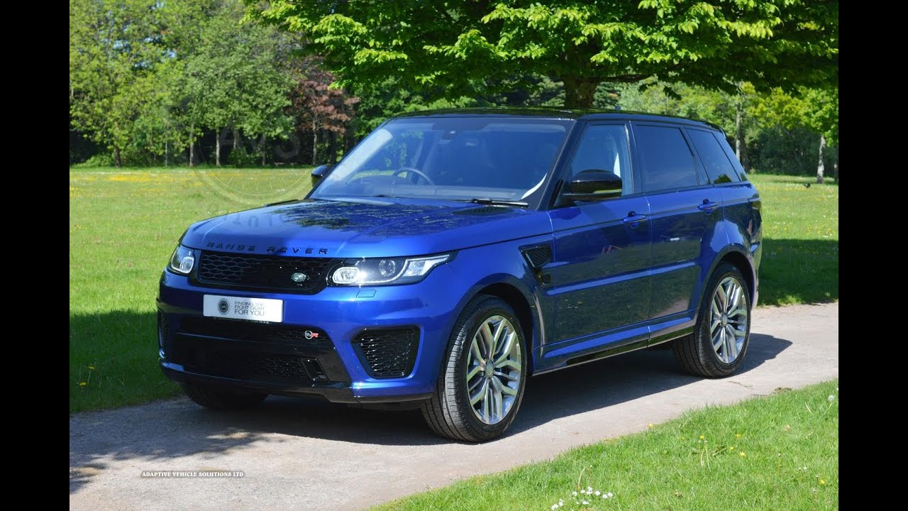 the all new range rover sport svr 5 0 v8 supercharged sold youtube. Black Bedroom Furniture Sets. Home Design Ideas