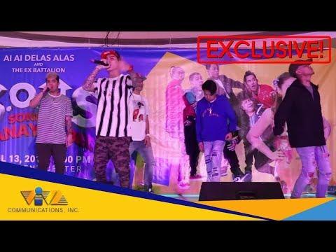 Maki - jamming kasama ang EX BATTALION as they perform 'Mahirap Na'