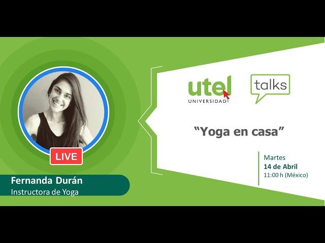 Yoga en casa | UTEL Universidad