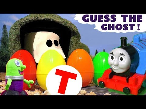 Thomas The Tank Engine guess the ghost learn colors and learn letters with the Funlings TT4U