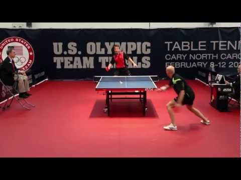 2012 US Olympic Trials - Scott Butler vs Razvan Cretu (6th Game)