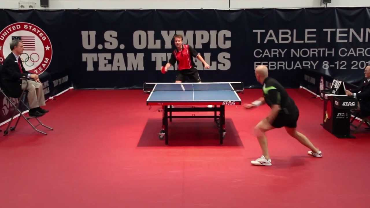 2012 US Olympic Trials   Scott Butler Vs Razvan Cretu (6th Game)