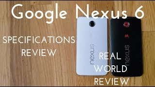 Nexus 6 - Nexus 6 Specs Video (Real World Review)