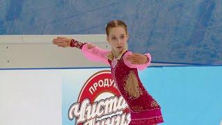Елизавета Берестовская Произвольная программа Девушки Кубок России Третий этап