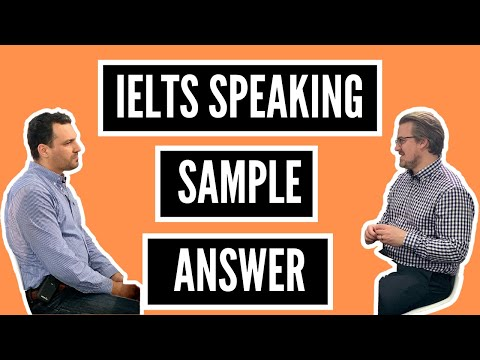 IELTS Speaking Sample Answer (with a Band Score and Feedback!)