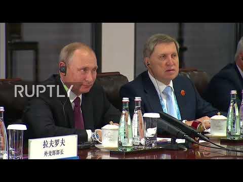 China: Putin and Xi Jinping hold bilateral talks ahead of BRICS summit kick-off in Xiamen