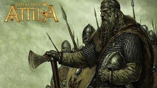 Прохождение Total War Attila за скандинавов Серия 2