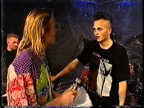 Leæther Strip - Crash Flight 232 Live danish television 1990