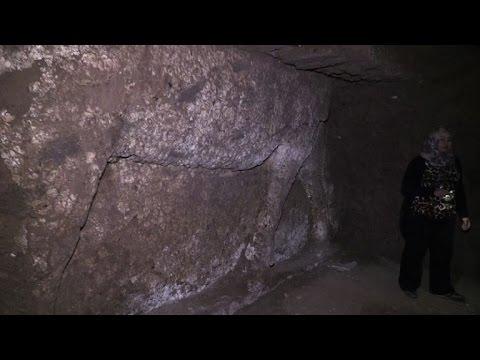 Jihadist tunnels uncover Assyrian winged bulls in Mosul