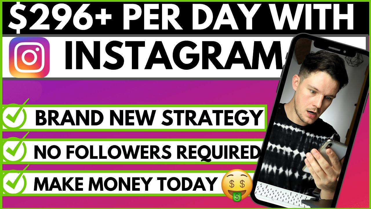 Make Money Online With Instagram FAST (No Followers Required)