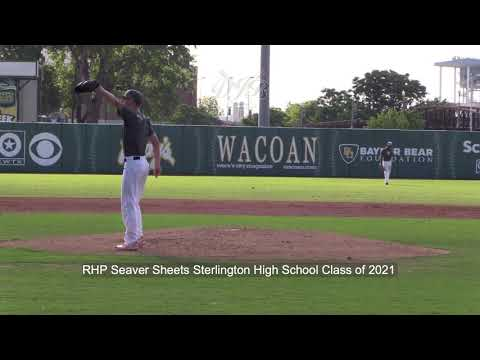 RHP Seaver Sheets Sterlington High School Class of 2021