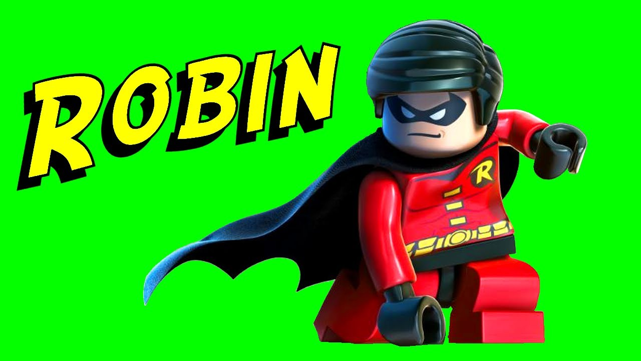 LEGO Robin & Nightwing Minifigure Comparison Batman DC ...