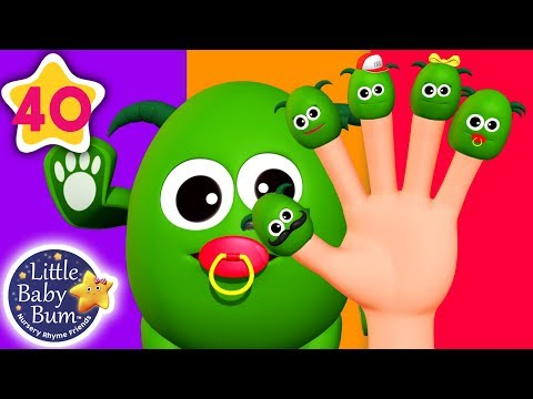 Finger Family Monsters Halloween Special | + More Nursery Rhymes & Kids Songs | Little Baby Bum