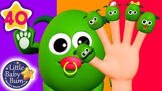 Finger Family Monsters Halloween Special | +More Nursery Rhymes & Kids Songs | Little Baby Bum
