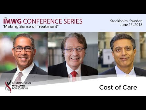 Stockholm 2018: Cost of Care for Multiple Myeloma