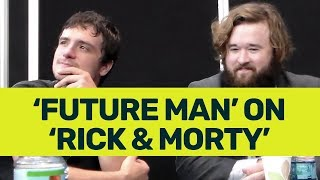 'Future Man' Cast Talks Time Travel, Geeks out on Rick and Morty, Steals our Hearts