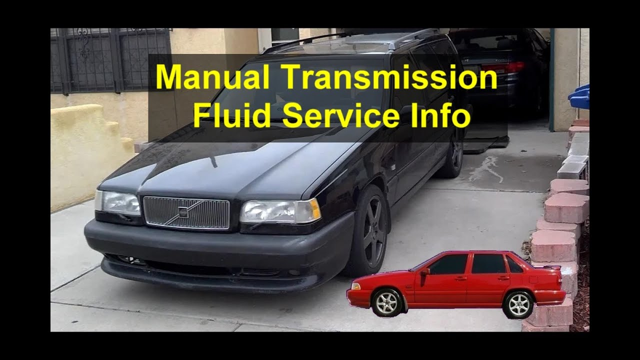 manual transmission fluid change process volvo 850 s70 xc70 c70 rh youtube com Volvo 850 Transmission Problems 1998 volvo s70 automatic transmission fluid