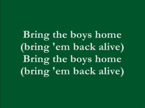 """Bring the Boys Home"" by Freda Payne with lyrics"
