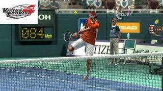 Virtua Tennis 4 - Rafael Nadal vs Roger Federer - PS3 Gameplay