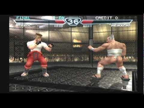 Tekken 4 Ps2 Youtube