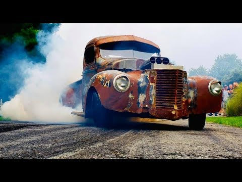 Rat Rod Trucks & Cars For Your Viewing Pleasure! 👀💪💣