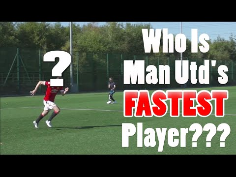 Who Is Manchester United's Fastest Player???...