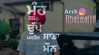 Lifestyle     Sidhu Moose Wala    Whatsapp Status    Arsh Dhaliwal