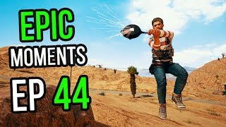 PUBG: Epic & Lucky Moments Ep. 44