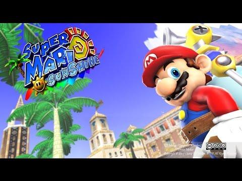 Super Mario Sunshine 4K HD - Nintendo Switch Vs Gamecube Graphics Comparison